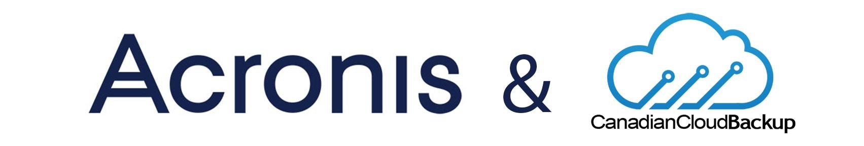 Acronis Backup Software | Canadian Cloud Backup
