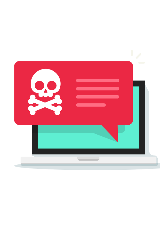 Don't fall victim to ransomware graphic - Canadian Cloud Backup