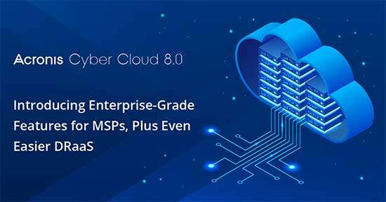 Acronis Cyber Cloud 8 update